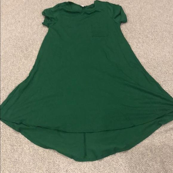 LuLaRoe Dresses & Skirts - Lularoe Green Carly